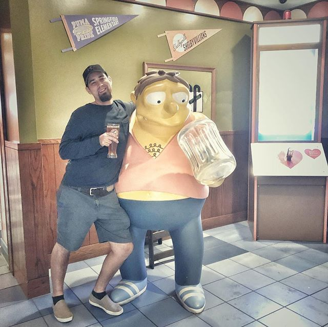 Moes Bar Universal Studios