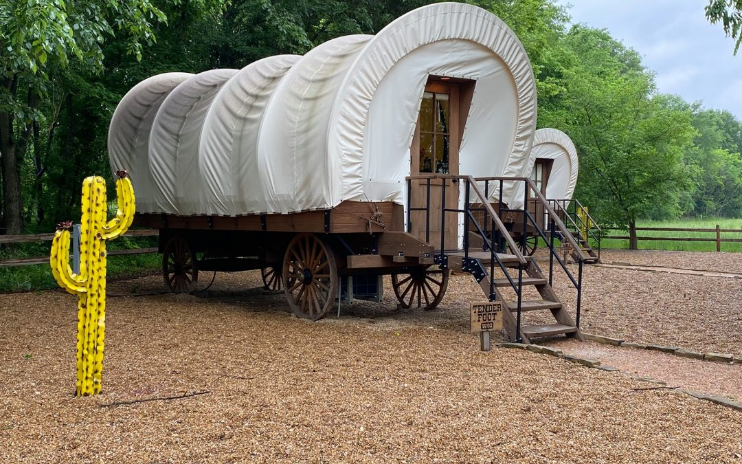 Glamping at Silver Spur Resort in Canton, Texas
