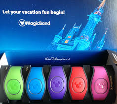 Box of Disney magic bands for Disney World.   Disney World- What you need to know.