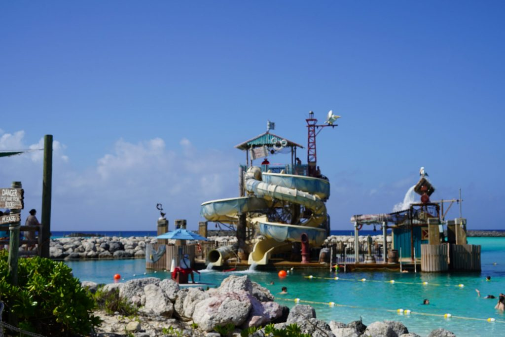 Pelican Plunge water park. | Castaway Cay- Everything you need to know
