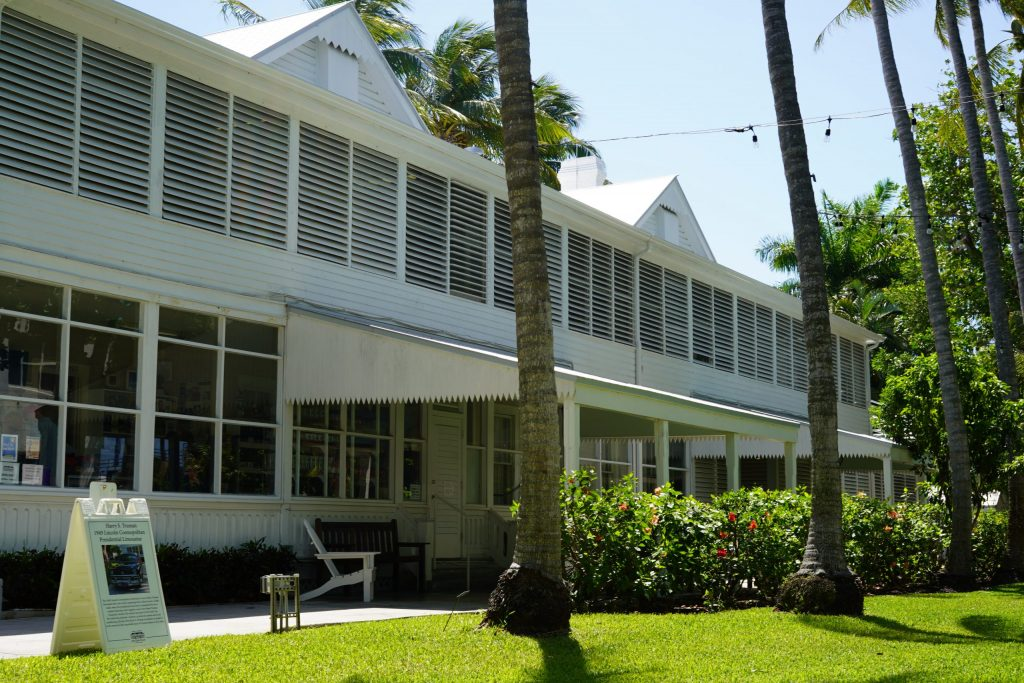 Truman's Little White house building in Key West. | What you to need to know about Key West