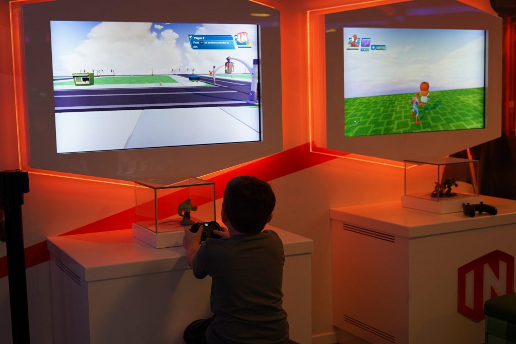 Kids playing in the Oceaneer club on the Disney cruise. | Disney Dream Cruise